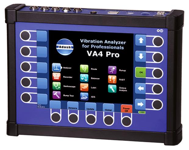 4 канальный виброанализатор-сборщик данных A4400 — VA4 Pro