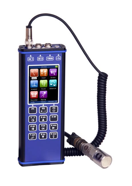 Портативный виброанализатор-сборщик данных A4300-VA3 Pro